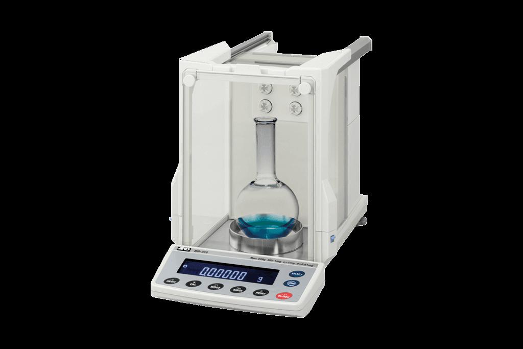 laboratorium-weegschalen